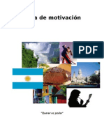 Motivation Letter Spanish