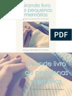 Grande livro de pequenas memórias