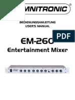 omnitronic EM-260
