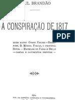 A Conspiração de 1817, por Raul Brandão