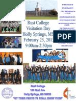 Rust College Visitation Day 2013