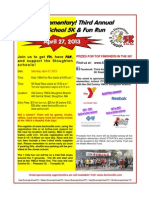 5 School 5K & Fun Run
