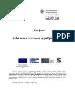 Lobēšanas tiesiskais regulējums Latvijā
