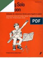 FAGOTE - ESTUDO - Seleção de Clássicos fáceis (Going Solo Bassoon) - SOLO e AC. PIANO