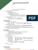 BK(AÖU)01 - Chemie - Lernzusammenfassung 09