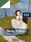 SPCK New Titles January-June 2013