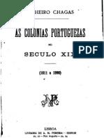 As colónias portuguesas no século XIX (1811 a 1890), por Pinheiro Chagas