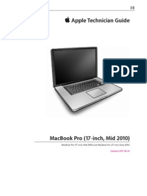Apple Macbook Pro Service Manual Pixel Booting