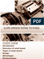 low speed wind tunnel