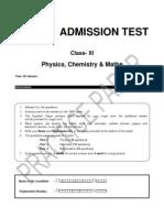 Class 11 PRACTICE PAPER-PCM.doc