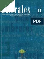 Revista Umbrales11. Revista del Postgrado en Ciencias del Desarrollo. CIDES UMSA. La Paz Bolivia.pdf