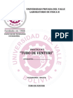 PRACTICA N°5 TUBO DE VENTURI