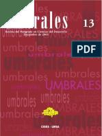 Revista Umbrales13. Revista del Postgrado en Ciencias del Desarrollo CIDES UMSA. La Paz Bolivia.pdf
