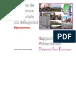 SCoT Beaujolais_Rapport de Présentation_Diagnostic_Socio-Eco_ Déplacements