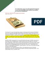USAID & IMF