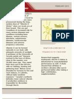 Vitamin D Newsletter
