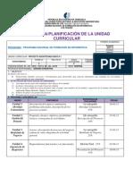 MODELO DE PLANIFICACION PROYECTO SOCIOTECNOLÓGICO II-1