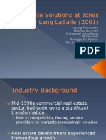 Corporate Solutions at Jones Lang LaSalle (2001)