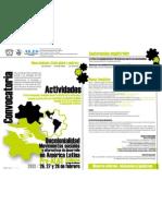 Cartel Descolonialidad 2013 UAEM
