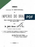 Chronica geral e minuciosa do imperio do Brazil