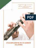 VCM Clarinet Exam Syllabus