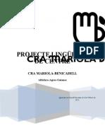 PROJECTE LINGÜISTIC DE CENTRE CRA MARIOLA-BENICADELL
