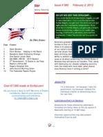 Newsletter #383