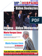 Obama - Biden Re-electos