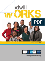 Goodwill's 2012 Annual Report - Goodwill Works