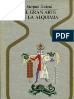 Sadoul, Jacques - El Gran Arte de La Alquimia