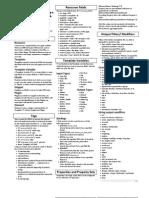 MODX Revolution Basic Cheatsheet