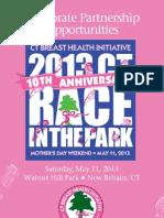2013 CT Race in the Park Sponsorship Brochure