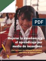 BancoMundial_Mejorar la enseñanza y aprendizaje x incentivos