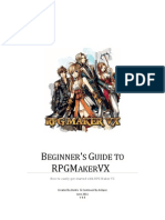 Beginner's Guide to RPG Maker VX
