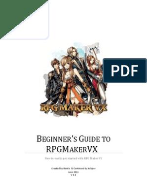 Beginner's Guide to RPG Maker VX | Video Game Development