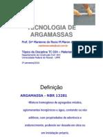 TC034_Argamassas_Marienne - Tecnologia Das Argamassas - Materiais III.pdf