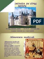 Alimentatia Medievala