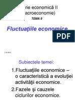 Fluctuaţiile economice