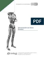 Consola de Administración ESET - Sincronización con Active Directory.pdf