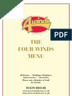 Four Winds Menu