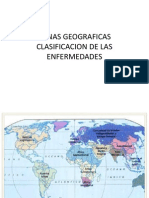 Zonas Geograficas - Tipos de Epidemias