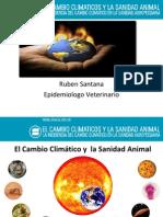 Cambio Climatico en Salud Animal