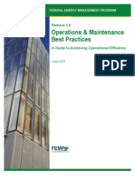 Operations and Maintenance Best Practices, Release 3