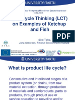 109 185 67 Life Cycle Thinking on Examples of Ketchup and Fis