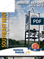 Southeast Kentucky Community & Technical College 2013 Annual Report