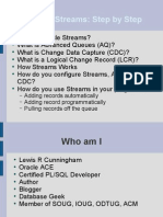Oracle Streams - Step by Step PPT