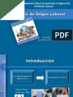 Zoonosis de Origen Laboral