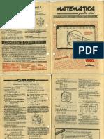 Matematica Valcea ianuarie 1990
