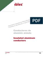 Catalogo-conductores de Aluminio Aislado