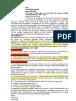 1- Edital - PCESP - Perito Criminal 2012